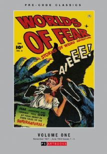 Pre-Code Classics Worlds Of Fear Volume 1
